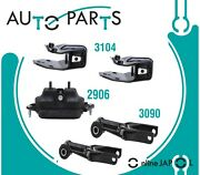 Engine And Trans Mount Set 5pcs For Chevrolet Monte Carlo 3.5l 3.9l V6 2006-07 Hyd