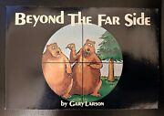 Beyond The Far Side By Gary Larson 1983 - Signed/autographed By Gary