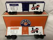 ✅lionel Monopoly St James And Mediterranean Ave Box Car Set 6-39379 New