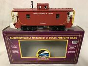 ✅mth Premier Baltimore And Ohio N6b Caboose 20-91121 For Bando Steam Diesel Engine