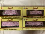 ✅rmt Pink Cancer Cure Beep Set Diesel Engine Caboose W/ Lionel Type Couplers