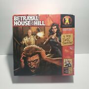 Avalon Hill Board Game Betrayal At House On The Hill Box Vg Near Complete.