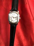 And Co. Date Guilloche Dial Stainless Resonator Swiss Made Ladies Watch