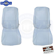 1962 Grand Prix Front And Rear Seat Covers Upholstery Pui New
