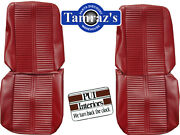 1966 Gto Lemans Front Bucket And Rear Seat Upholstery Covers Choice Pui New