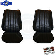 1971-1972 Monte Carlo Front And Rear Seat Covers / Upholstery Pui - New