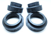 X4 50mm Spring Rubber Spacer Lift Kit For Mercedes Benz G Class W463 W461
