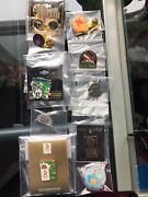 Vintage Pins Brooch Lot Olympic Nfl Superbowl Rockies Huskers Sports New Collect