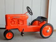 Allis Chalmers Ertl Model Wd-45 Pedal Tractor 50th Anniversary 1953-2003 Signed