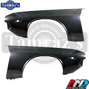 72-74 Dodge Challenger Front Fender - Amd Improved Tooling - Lh And Rh Side Pair