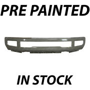 New Painted To Match Front Bumper Face Bar For 2017-2019 Ford F-250 F-350 W/ Fog