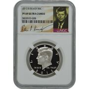 2012-s Kennedy Ngc Pf69 Ultra Cameo Proof Silver Half Dollar Coin