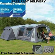 New Package Deal 2021 Outdoor Revolution Kalahari Pc 7.0 Family Camping Air Tent