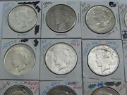Roll-mixed 1922-s Through 1935-s Peace Silver Dollars-22-s25-s26-d35s, Etc.