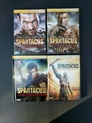 Spartacus Dvd Seasons 1-3 And Gods Of The Arena Complete Collection - Like New