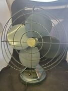Vintage Mimar Mp Model 416 Xx Oscillating Fan Working Tested 23 Tall