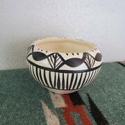 Sonny Bruce Indian Shop Black On White Pottery Taos Pueblo Inspired Pre Historic