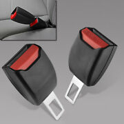 1 Pair Universal Car Safety Seat Belt Buckle Clips Adjustable Extension Extender