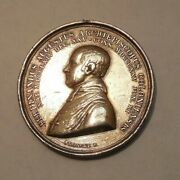 1833 Germany- Silver And Gold Medal- Ferdinand Archbishop Of Cologne By F. Francke