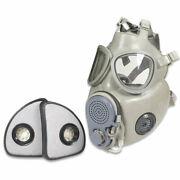 Military Czech Gas Mask M10m With Hydration Straw Filters Emergency Survival Nbc
