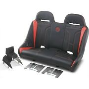 Extreme Front And Rear Bench Seats Deep Orange Double T