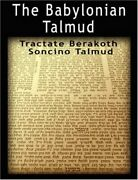 The Babylonian Talmud Tractate Berakoth, Soncino By Epstein, Isidore, New,,