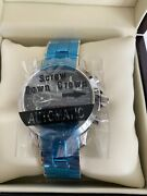 Manufacture George J Von Burg Signed Automatic Watch Modern 10021 B Stainless