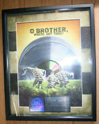 Riaa Platinum To Cmt For Oand039 Brother Where Art Thou - 2 Million