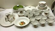 Wedgwood English Harvest 67pc Set Service For 8 + Extras