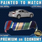 New Painted To Match - Rear Bumper Replacement For 2009-2014 Nissan Maxima Sedan