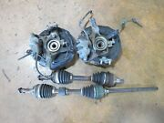 Toyota 3s-gte Caldina 4th Gen Turbo Axles W/t Front Rh And Lh Side Brake Calipers