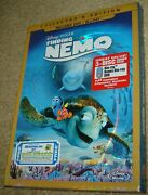 Finding Nemo Blu-ray/dvd 2012 3-disc Set Dvd/blu-ray New And Sealed Rated G