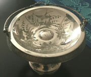 Victorian Bride's Basket Middletown Silver Plate Co.