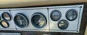 Dash Gauge Cluster Panel From A 1981 Celebrity Bow Rider Boat Parting Out Boat