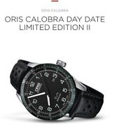 Oris Calobra Limited Edition Steel Day Drive Time . Rrp 2750 Selling In Aust