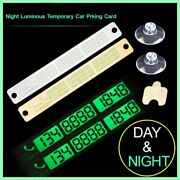 Car Temporary Parking Card Car Styling Telephone Number Card Sticker Phone Numbe