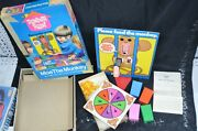 Hasbro Romper Room Moe The Monkey Game For Parts- Missing 1 Arm Vintage 1971