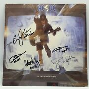 Ac/dc Signed Blow Up Your Video Vinyl Aftal Onlinecoa