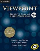 Viewpoint Level 2 Studentand039s Book With Updated O Mccarthy Mccarten San Pb-