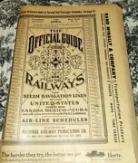Official Guide Of The Railways Airline Schedule Original April 1967 Free Ship