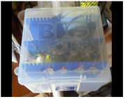 Tackle Spinner Bait Box 550 With Dividers Case Holds 60 Bass Fishing Lures