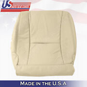 Driver Bottom Perforated Leather Seat Cover Tan Fits 2007 To 2012 Lexus Ls460