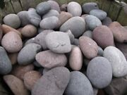 Red Mexican Beach Pebbles Bulk 3000 Lb. Pallet-decorative Rock- Landscape Stone