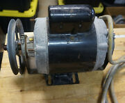 Shopsmith Power Station/accessory Stand Replacement 3/4 Hp Motor Runs Great