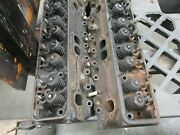 1995-98 Small Block Chevy 350 Car Truck Heads 10147898 Stock Heads To Rebuild