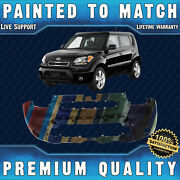 New Painted To Match - Front Bumper Cover For 2010 2011 Kia Soul Hatchback 10 11