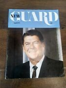 Vintage New Guard Magazine April 1975. Magazine Of Young Americans For Freedom