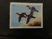Wtdstamps - 1978 Wisconsin - State Duck Stamp - Og Nh -