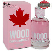 Dsquared2 Wood Perfume 3.4 Oz Edt Spray For Women By Dsquared2