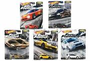 Hot Wheels The Fast And The Furious Wild Speed Premium Assort -fasttuners 5set